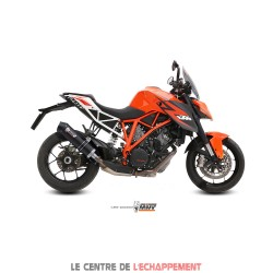 Silencieux MIVV SPORTLINE ovale court Adapt.KTM 1290 SUPER DUKE 2014-...