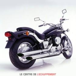 Silencieux SILVERTAIL K02 Yamaha XVS 650 DRAGSTAR / CLASSIC