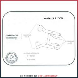 Boites à fumées pour Yamaha XJ 400 / 550