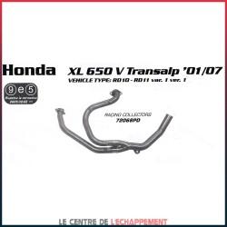 Collecteur pour Honda XLV 650 TRANSALP 2000-2007