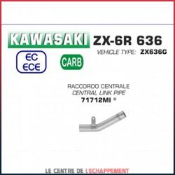 Manchon raccord sans catalyseur pour Kawasaki ZX6R 636 2019-...