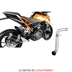 Manchon raccord sans catalyseur pour KTM 125 DUKE 2017-...