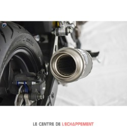Silencieux TERMIGNONI GP Style Rond Honda CB 500 F / CBR 500 R et CB 500 X 2019-...