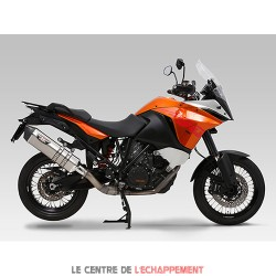 Silencieux YOSHIMURA HEPTA FORCE KTM 1190 ADVENTURE 2013-2016 Coupelle Carbone