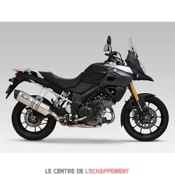 Silencieux YOSHIMURA HEPTA FORCE Suzuki DL 1000 V-STROM 2014-... Coupelle Carbone