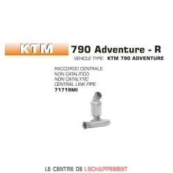 Manchon raccord sans catalyseur pour KTM 790 Adventure 2019-...
