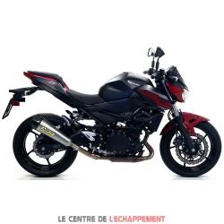 Silencieux ARROW X-Kone Kawasaki Z 400 2019-... Coupelle Carbone