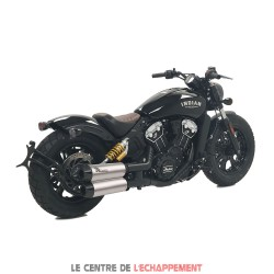 Silencieux MOHICAN Indian Scoot 1130 2017-... Inox satiné