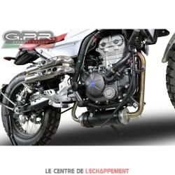 Manchon raccord sans catalyseur GPR pour Mondial FB HPS 125 2016-03/2018