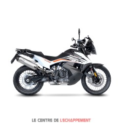 Silencieux LEOVINCE LV One Evo KTM 790 Adventure 2019-... Coupelle Carbone