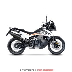 Silencieux LEOVINCE Nero KTM 790 Adventure 2019-... Coupelle Carbone
