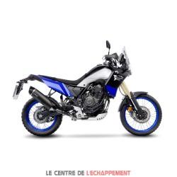 Silencieux LEOVINCE LV ONE Evo Black Edition Yamaha Ténéré 700 2019-... Coupelle Carbone