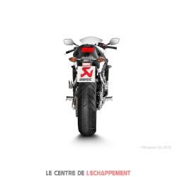 Ligne Complète AKRAPOVIC Racing Line Honda CB 650 F / CBR 650 F 2014-2018