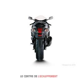 Ligne Complète AKRAPOVIC Racing Line Suzuki GSX R 1300 HAYABUSA 2008-2016 Coupelle Carbone
