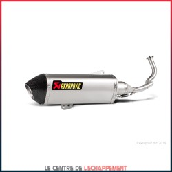 Silencieux AKRAPOVIC Racing Line Honda PCX 125 2012-2018 Coupelle Carbone