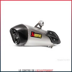 Silencieux AKRAPOVIC Slip-On BMW C 650 SPORT 2016-... Coupelle Carbone