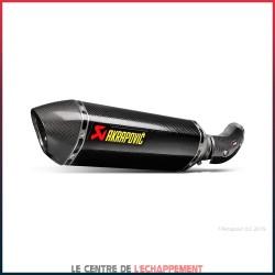 Silencieux AKRAPOVIC Slip-On BMW S1000 RR 2015-2016 Coupelle Carbone