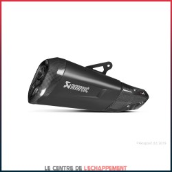 Silencieux AKRAPOVIC Slip-On BMW S1000 XR 2015-2016 Coupelle Carbone