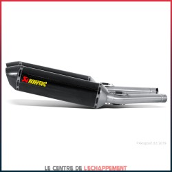 Silencieux AKRAPOVIC Slip-On Suzuki GSX R 1300 HAYABUSA 2008-2016 Coupelle Carbone