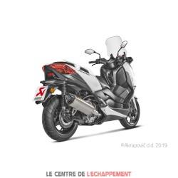Silencieux AKRAPOVIC Slip-On Yamaha X-MAX 250 / 300 2017-... Coupelle Carbone