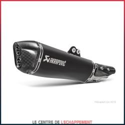 Silencieux AKRAPOVIC Slip-On Kymco AK 550 2017-... Coupelle Carbone