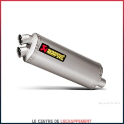 Silencieux AKRAPOVIC Slip-On Honda CRF 1000 L AFRICA TWIN ADVENTURE SPORT 2018-...