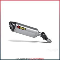 Silencieux AKRAPOVIC Slip-On Kawasaki VERSYS 1000 2012-2018 Coupelle Carbone