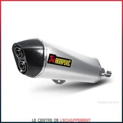 Silencieux AKRAPOVIC Slip-On Gilera FUOCO 500