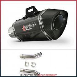 Silencieux LEXTEK XP8C Aprilia RSV 1000 R / FACTORY 2004-2007 et Tuono 1000 2006-2009