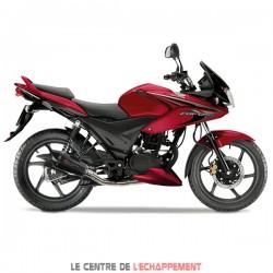 Ligne Complète LEXTEK XP8C Honda CBF 125 2008-2014