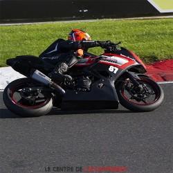 Silencieux LEXTEK XP10 Kawasaki Ninja 400 2018-... et Z 400 2019-...