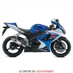 Silencieux LEXTEK GP1 Suzuki GSX R 1000 2007-2008