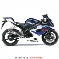 Silencieux LEXTEK GP1 Suzuki GSX R 1000 2001-2006