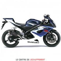 Silencieux LEXTEK GP8C Suzuki GSX R 1000 2001-2006