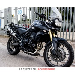 Silencieux LEXTEK RP1 Triumph TIGER 800 2011-2019