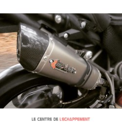 Silencieux LEXTEK VP1 Triumph TIGER 800 2011-2019