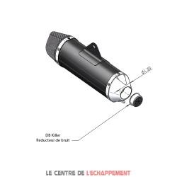 Réducteur de bruit entrée de silencieux Diam. 50 mm