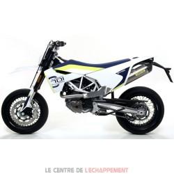 Silencieux ARROW THUNDER Husqvarna 701 SM/ENDURO 2021-... Coupelle Carbone