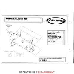 Ligne Complète MARVING Master Adapt.Yamaha MAJESTY 250 1996-2000