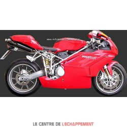 Silencieux MARVING Superline Small Ovale pour Ducati 749 R 2005-2007 et 999 R 2003-2004