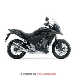 Silencieux LEOVINCE LV One Honda CB 500 F / CBR 500 R, CB 500 X (Coupelle Carbone)