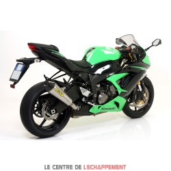 Silencieux ARROW X-Kone Adapt.Kawasaki ZX6R 2009-...