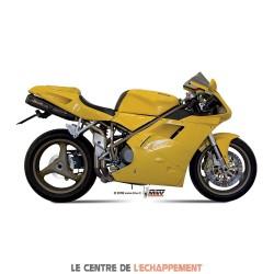 Silencieux MIVV SUONO Adapt.Ducati 748 MONOPOSTO/BIPOSTO /748R / 916 STRADA/BIPOSTO/SP / 996 / 998