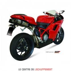 Silencieux MIVV SUONO Adapt.Ducati 848 IE/EVO / 1098/S/R / 1198/S