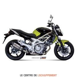 Silencieux MIVV SUONO Adapt.Suzuki 650 GLADIUS 2009-…
