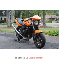 Silencieux SCORPION Factory ovale Adapt.Triumph TT 600 2000-2004