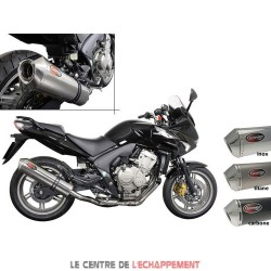 Silencieux SCORPION Factory rond Adapt.Honda CBF 600 2008-2013